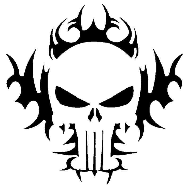 Tribal Skull Stencil For Airbrush Tattoo Craft Art Ebay Ideas And Designs
