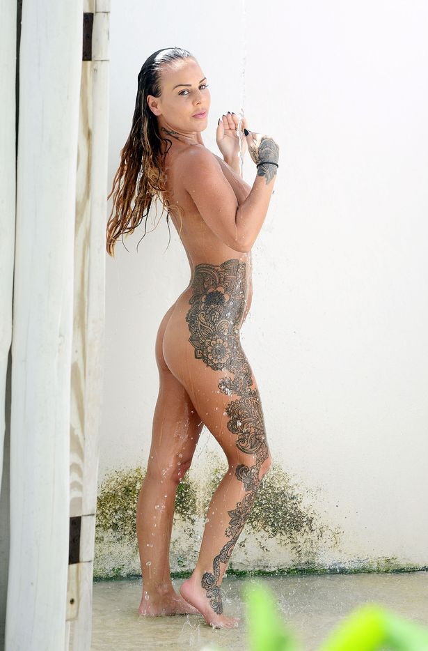 Chantelle Connelly Displays Her Unusual Tattoos As She Ideas And Designs