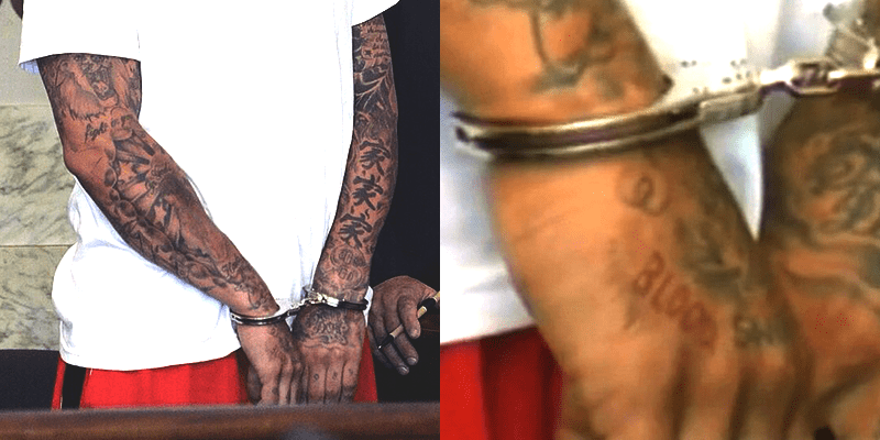 Aaron Hernandez Has 'Blood' Tattoo Revealed In The Ideas And Designs