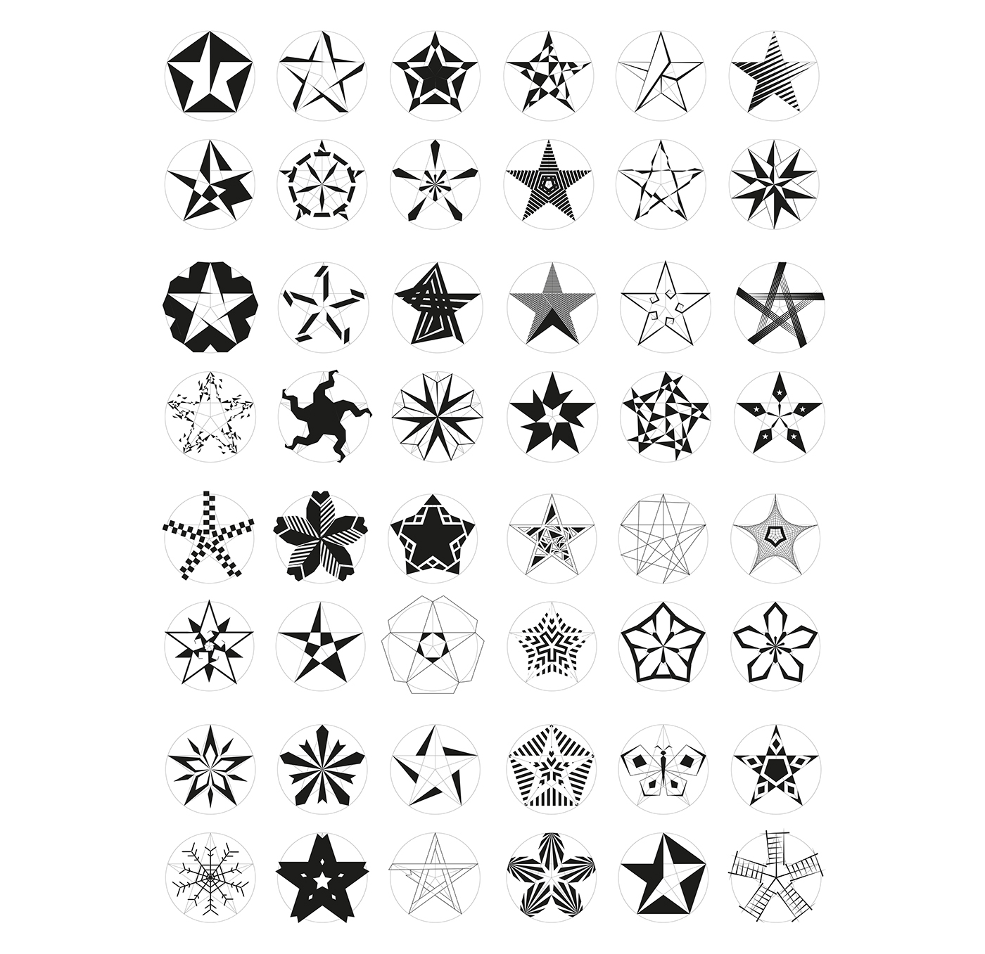 Five Pointed Star Symbol Design On Behance Ideas And Designs