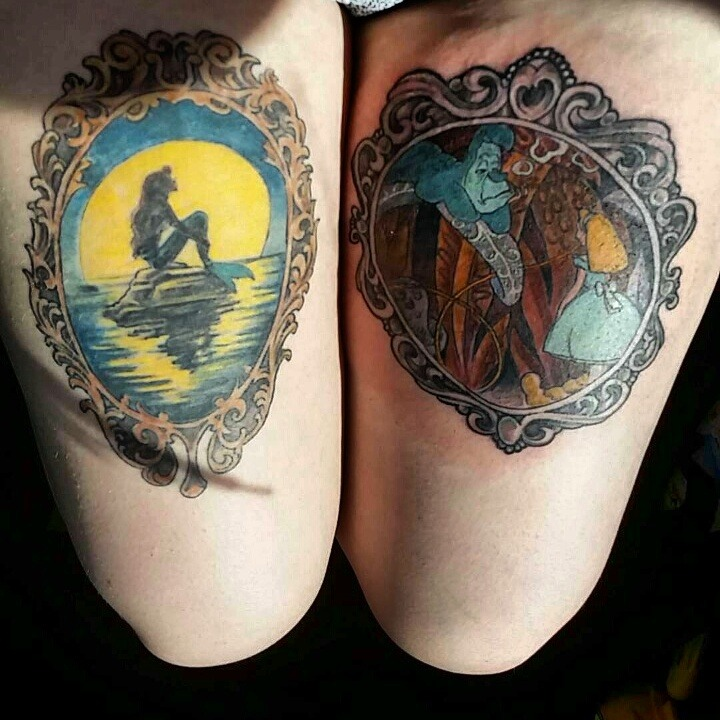 Tattoos Org — Both Done By Stan Farmer In Topeka Kansas Ideas And Designs