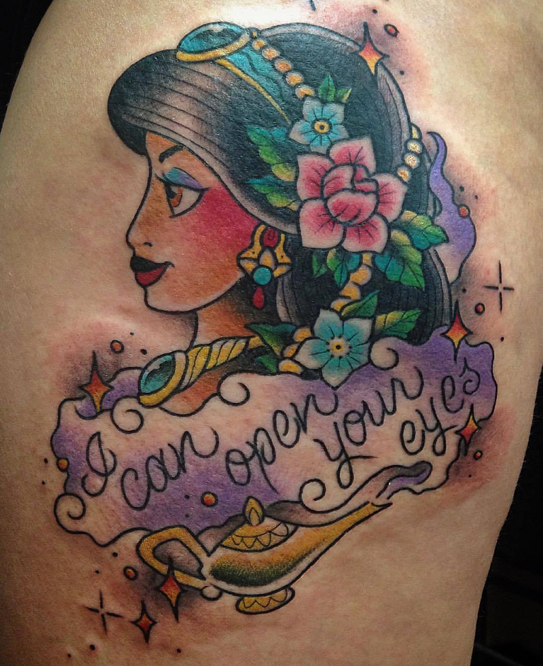 The Nothing — Got To Make This Princess Jasmine Tattoo Ideas And Designs