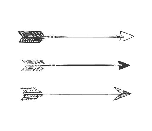 Feather And Arrow Tumblr Ideas And Designs