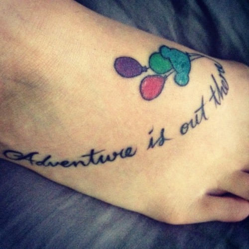 Adventure Is Out There Tattoo Tumblr Ideas And Designs