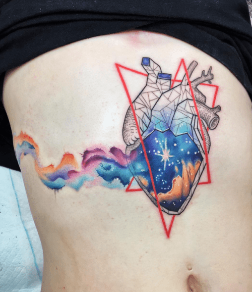 Heart Tattoos On Tumblr Ideas And Designs