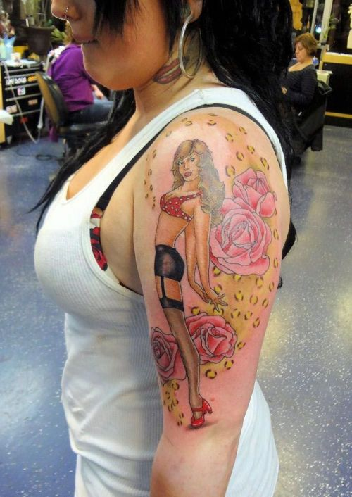 Pinup Tattoos On Tumblr Ideas And Designs