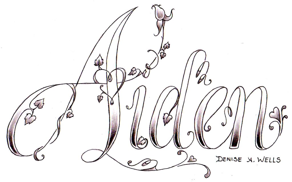 Aiden Tattoo Design By Denise A Wells Yet Another Ideas And Designs