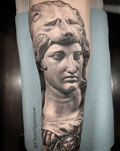 Alexander The Great Statues Bust Tattoo Chuvinci Chueyq Ideas And Designs