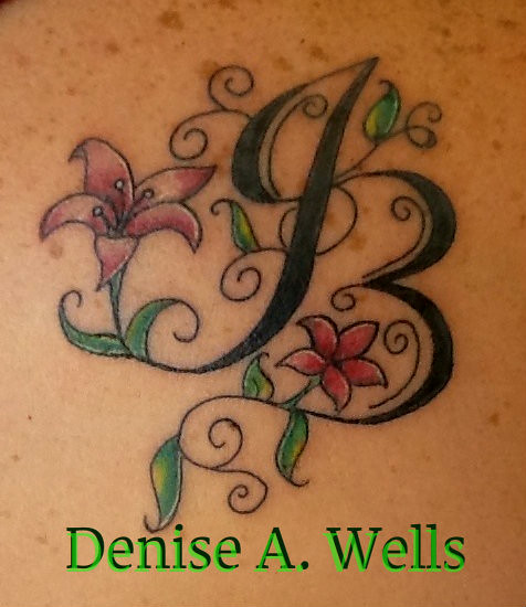 Jb Lily Tattoo Design Inked Design By Denise A Wells Ideas And Designs