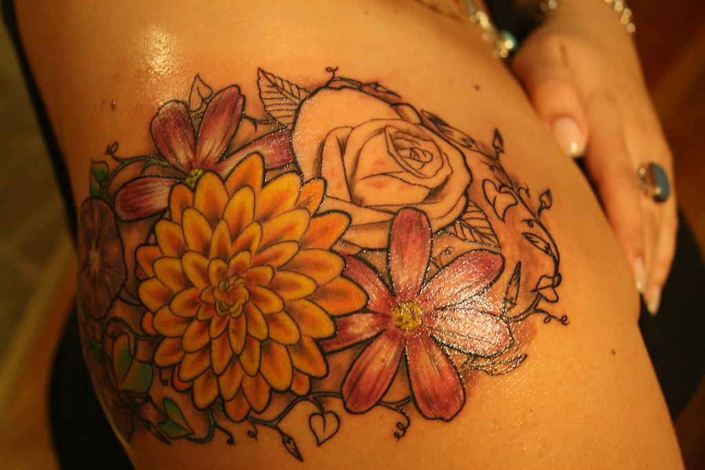 Flower Tattoo Mita Flickr Ideas And Designs