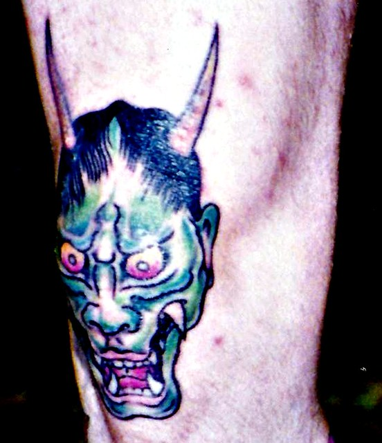 Knee Tattoo At San Diego Convention 1994 Headovmetal Ideas And Designs