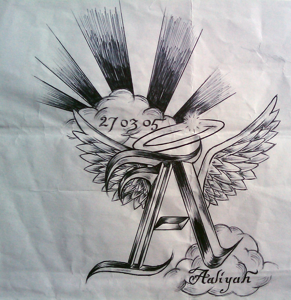 Aaliyah My Daugther Tattoo Aaliyah Was Born On The Ideas And Designs