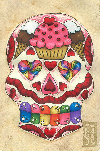 8 Candyland Sugar Skull Sold Jewelry By Oh S*Xy Ideas And Designs