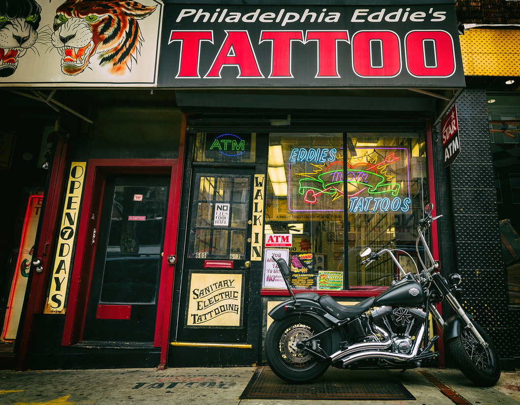 Philadelphia Eddie S Tattoo 4Th Street Between South Ideas And Designs