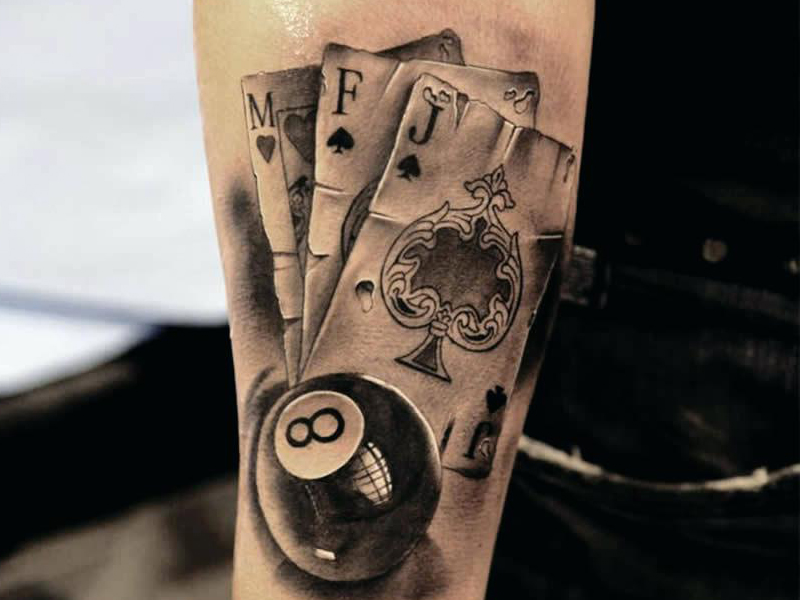 15 Stylish Playing Card Tattoos For Women And Men Ideas And Designs