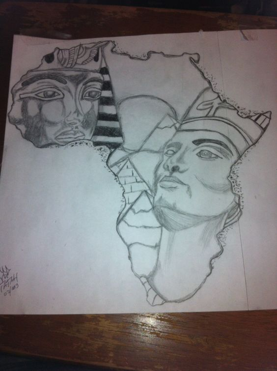 African Queen Tattoo Queen Tattoo And Outline Drawings On Ideas And Designs