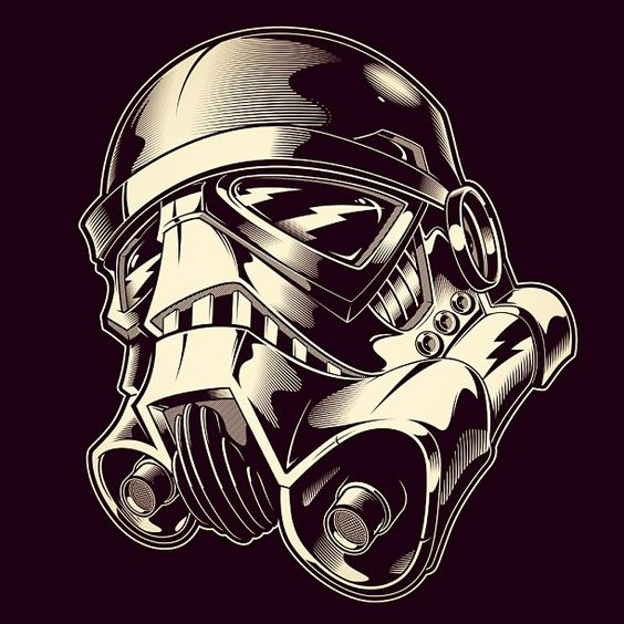 Starwars Graphic Illustration And Vector Design On Pinterest Ideas And Designs