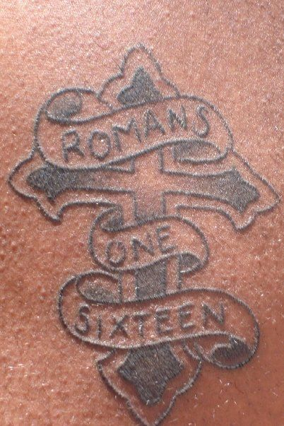 Romans 1 16 Tattoo 116 Pinterest Roman And Tattoos Ideas And Designs