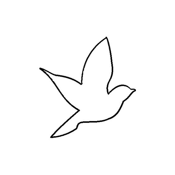 Aerie Bird Outline By Elena Do Not Edit Or Re Upload Ideas And Designs