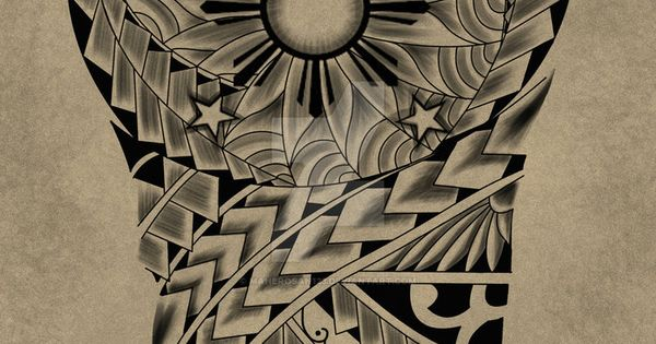 Tattoo Request Design Maori 3 Stars And The Sun By Ideas And Designs
