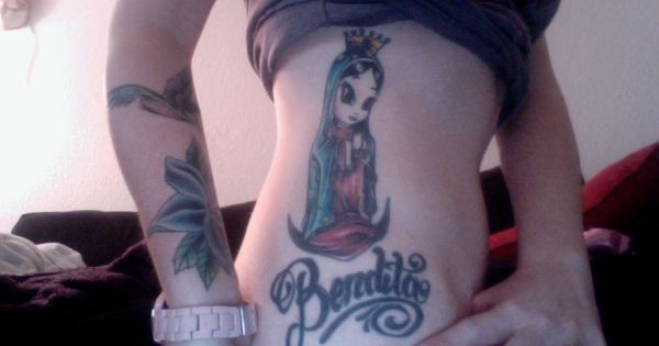 Virgen De Guadalupe Tattoo 200 Dollars And 4 Hours To Ideas And Designs