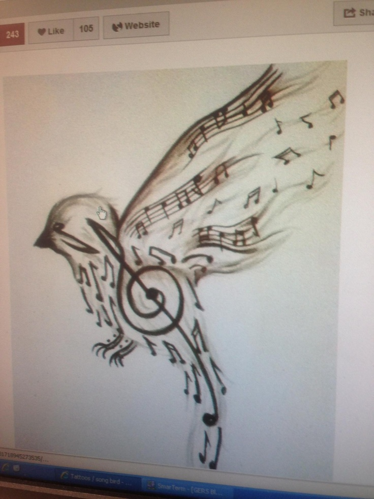 Ink Idea Music Tattoos Artsy Tattoos Music Note Ideas And Designs