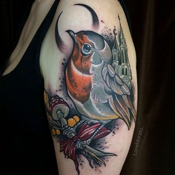 Bird With A Branch Tattoomodels Tattoo Astonishing Ideas And Designs