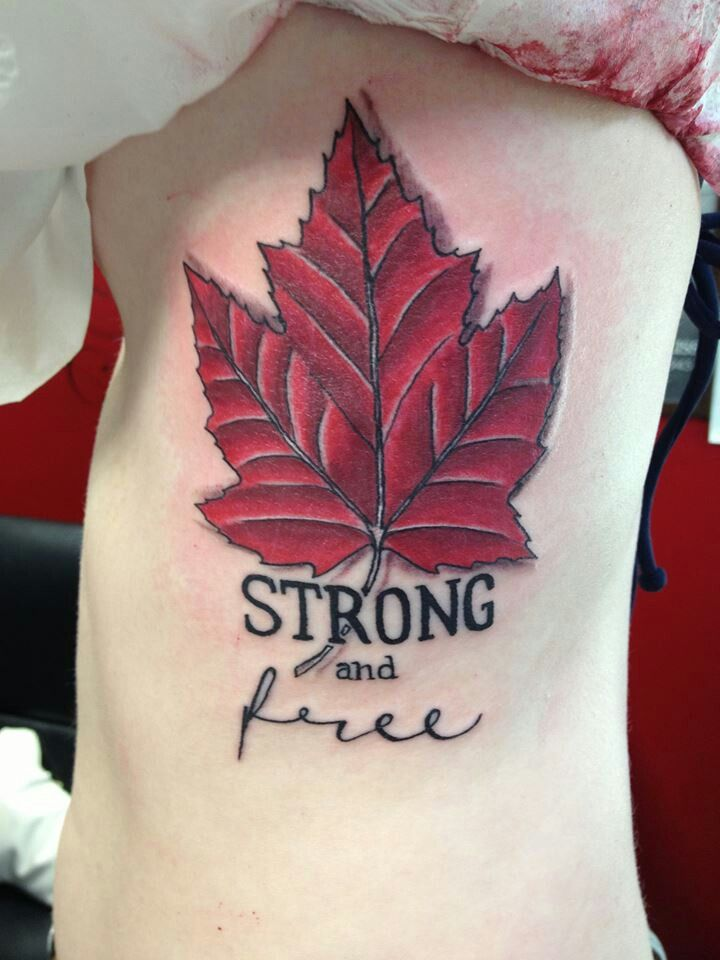 82 Best Images About Tattoo On Pinterest Canada Flag Ideas And Designs