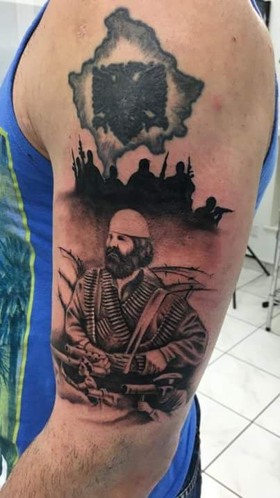 Adem Jashari Albanian Tattoos Www Facebook Com Ideas And Designs