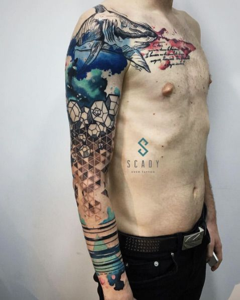 17 Best Ideas About Men Sleeve Tattoos On Pinterest Ideas And Designs