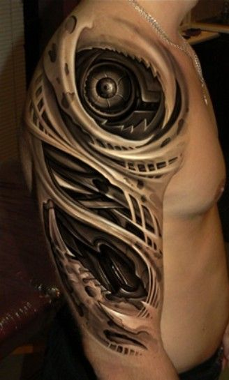 Best 25 Biomechanical Tattoo Ideas On Pinterest Ideas And Designs
