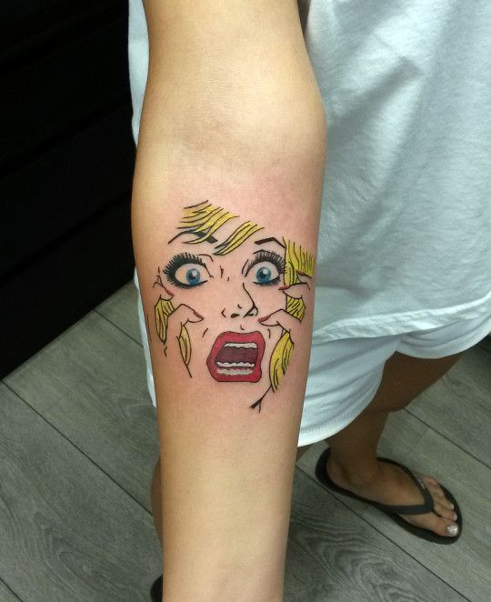 1000 Images About Pop Art Tattoos On Pinterest Ring Ideas And Designs