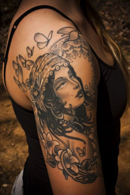 25 Best Ideas About Gypsy Tattoo Design On Pinterest Ideas And Designs