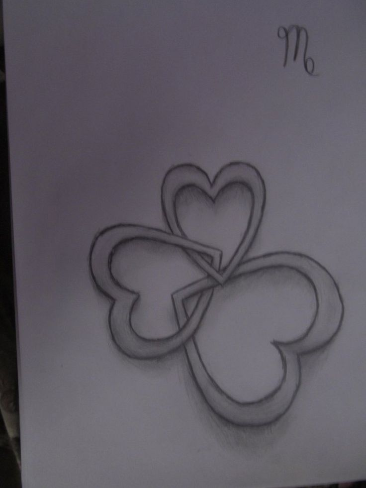 3 Hearts Tattoo Interlocking Hearts Tattoo My Style Ideas And Designs