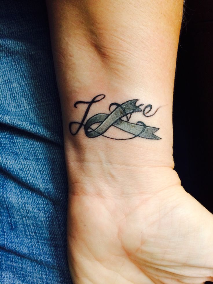 17 Best Images About Cancer Ribbon Tattoos On Pinterest Ideas And Designs