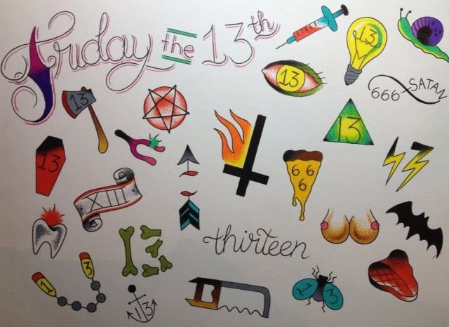 Flash For Our Friday The 13Th Event 13 Tattoos Plus Ideas And Designs