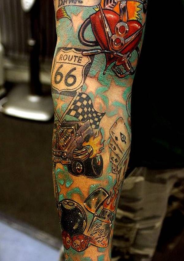 25 Best Ideas About Car Tattoos On Pinterest Mechanic Ideas And Designs