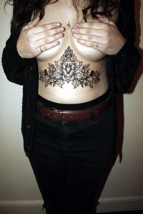 101 Charming Underboob Tattoos Designs For Women Ideas And Designs