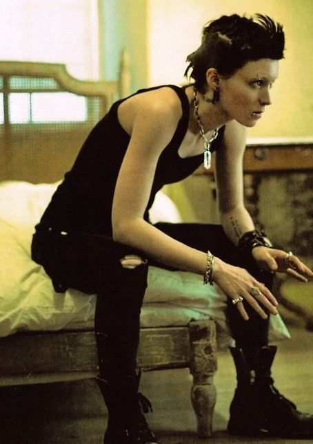 Lisbeth Salander Girl With The Dragon Tattoo Costume And Ideas And Designs