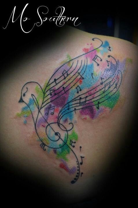25 Best Ideas About Music Bird Tattoos On Pinterest Ideas And Designs