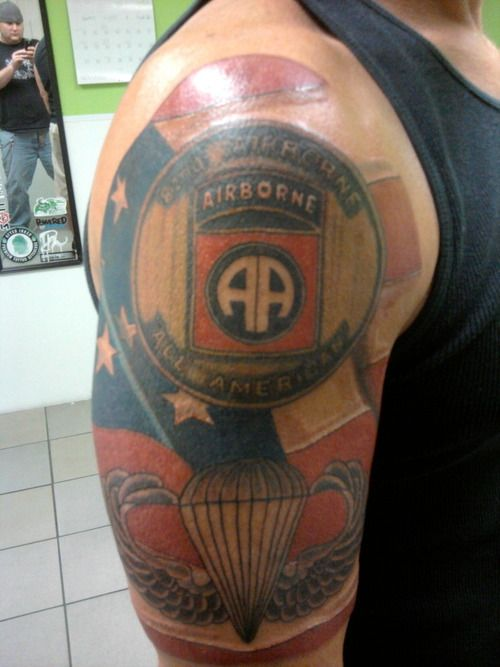 Airborne Wings Tattoo Cool Tattoos Pinterest Wing Ideas And Designs