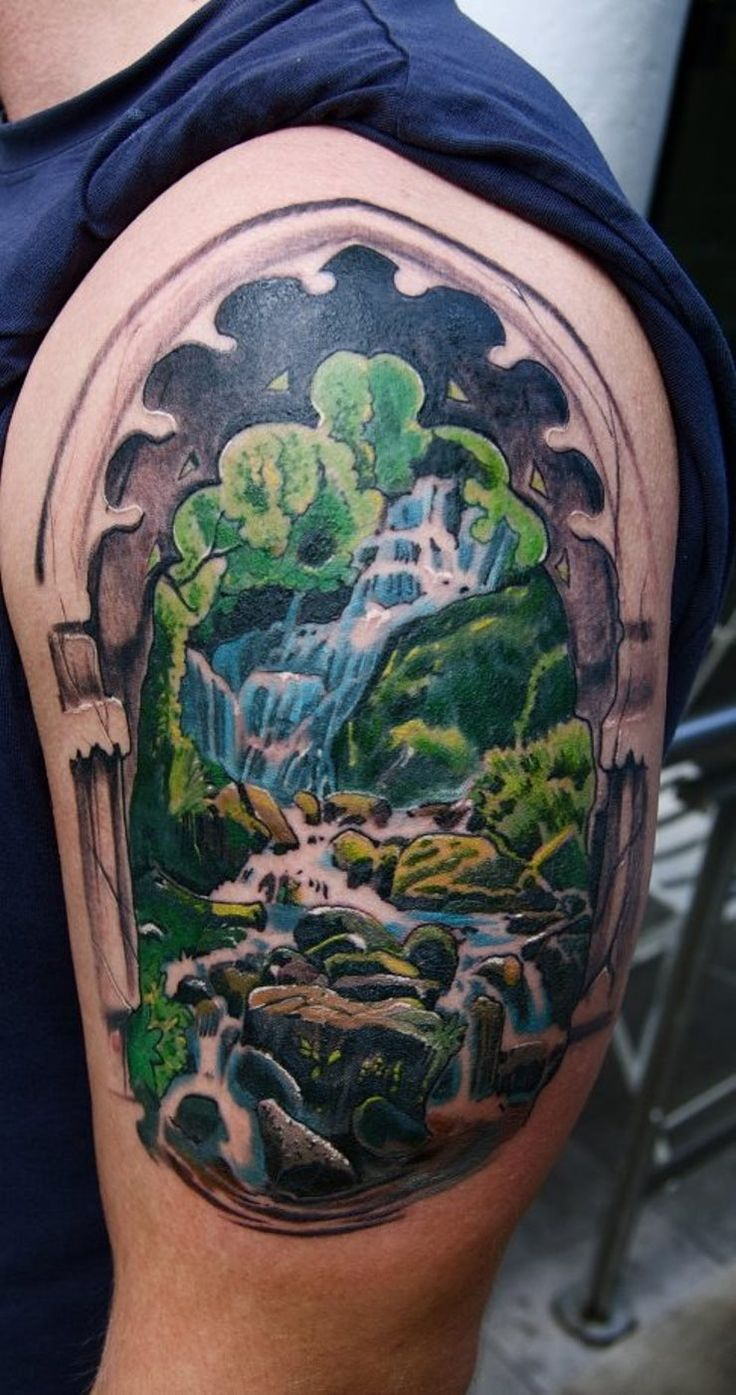 1000 Ideas About Waterfall Tattoo On Pinterest Forest Ideas And Designs