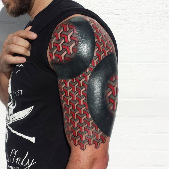 17 Best Ideas About Square Tattoo On Pinterest Optical Ideas And Designs