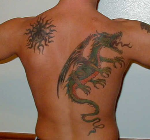 17 Images About Most Amazing Back Tattoos On Pinterest Ideas And Designs