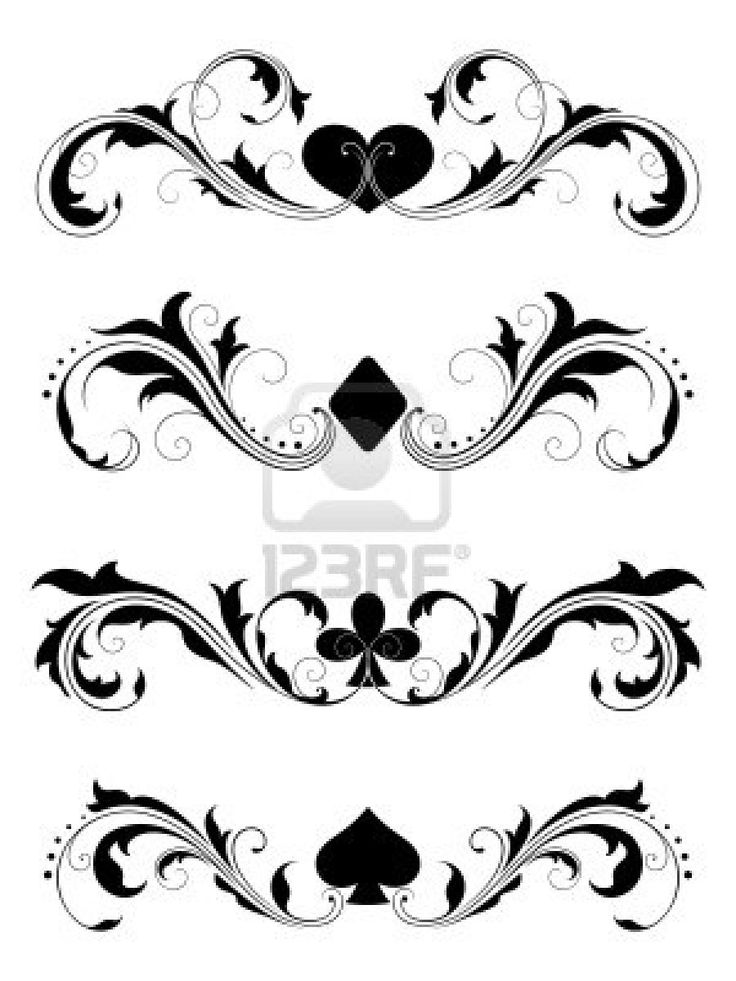 Poker Poker Suits Cards Poker Cards Tattoo Design Ideas And Designs