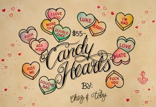Candy Hearts Flash Drawing Art Pinterest Drawings Ideas And Designs