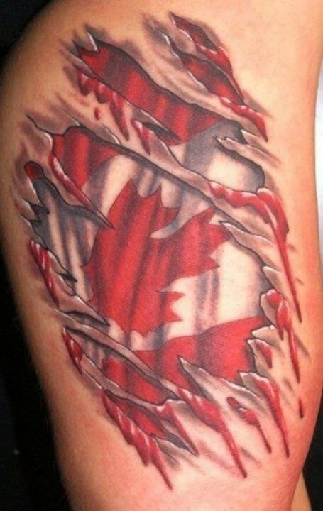 Canadian Pride Tattoos Pinterest Tattoo And Tatting Ideas And Designs