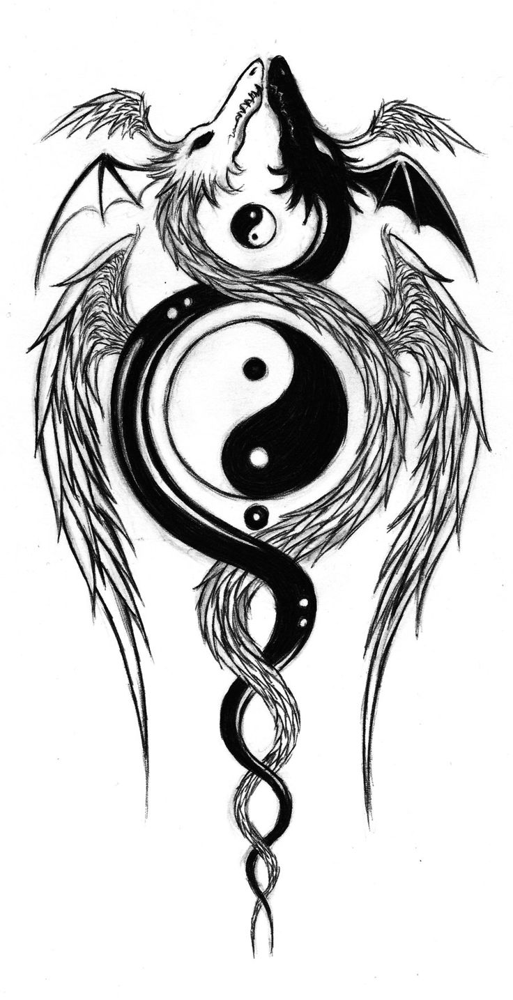 Dragons Yin And Yang Google Search Dragons Pinterest Ideas And Designs