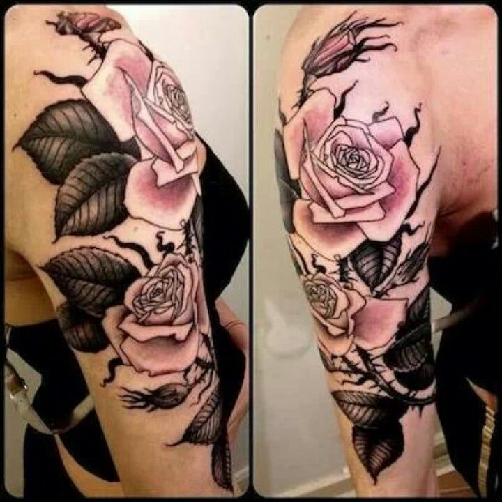 Floral Half Sleeve Tattoos Pinterest Floral Half Ideas And Designs