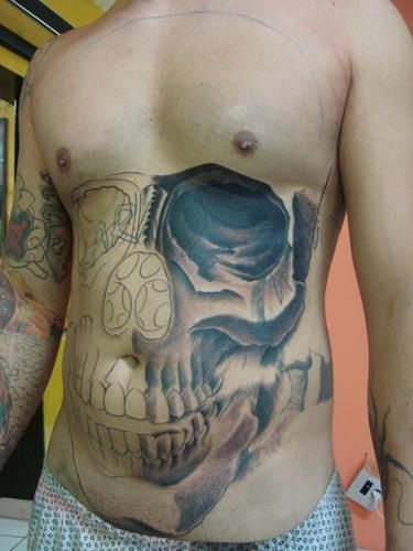 3D Skull Tattoo Skull Tattoos Pinterest Skulls 3D Ideas And Designs
